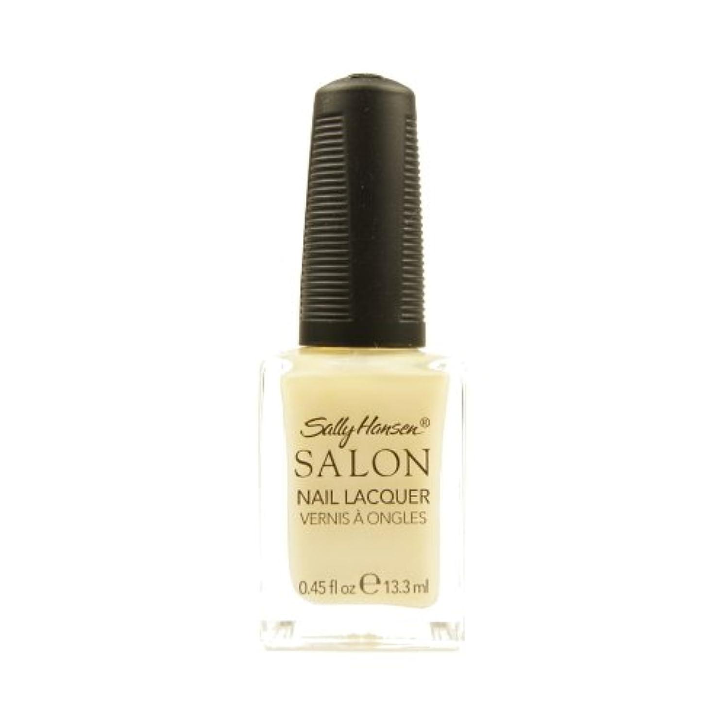男やもめ出席する再生的(3 Pack) SALLY HANSEN Salon Nail Lacquer 4134 - Sheer Pressure (並行輸入品)