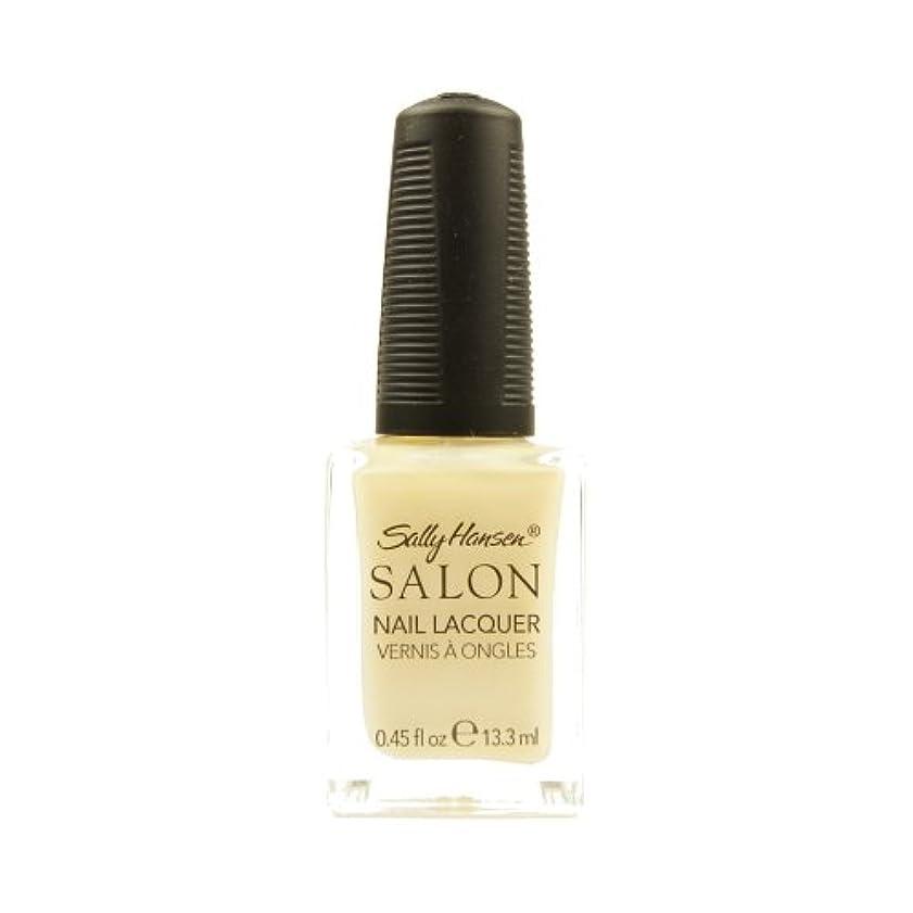 啓示親密な製作(3 Pack) SALLY HANSEN Salon Nail Lacquer 4134 - Sheer Pressure (並行輸入品)
