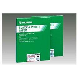FUJIFILM 黒白単階調印画紙 フジブロ  WP 4号 微光沢面 四切 20枚入り F BRO WP KM4 4 20 A