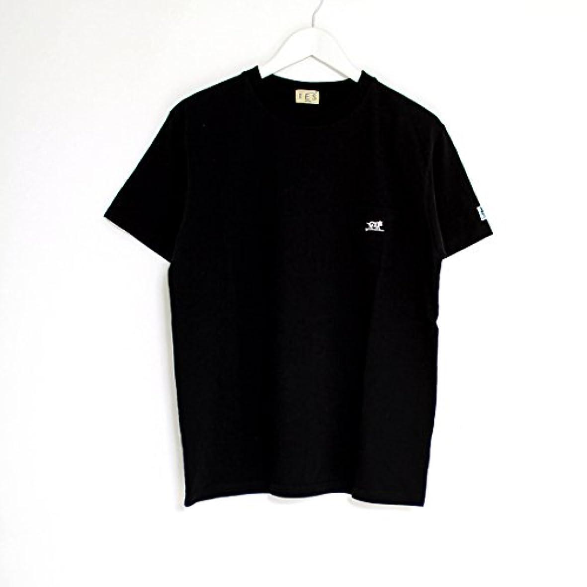 誓約成分かすかな(エンドレスサマー) The Endless Summer 別注 BUHI ワンポイント刺繍ポケットTシャツ [FH-8574506] 01 BLACK L