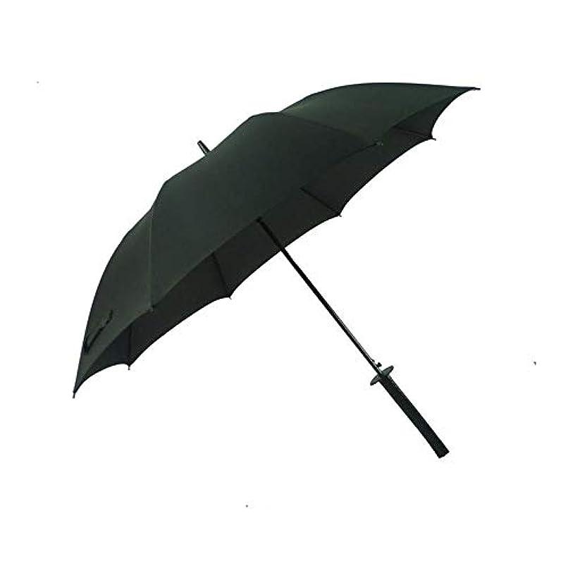 移行する橋脚手当Chuangshengnet ファッションパーソナリティクリエイティブ戦士ナイフ傘 (Color : ブラック, サイズ : 60cm*8k)
