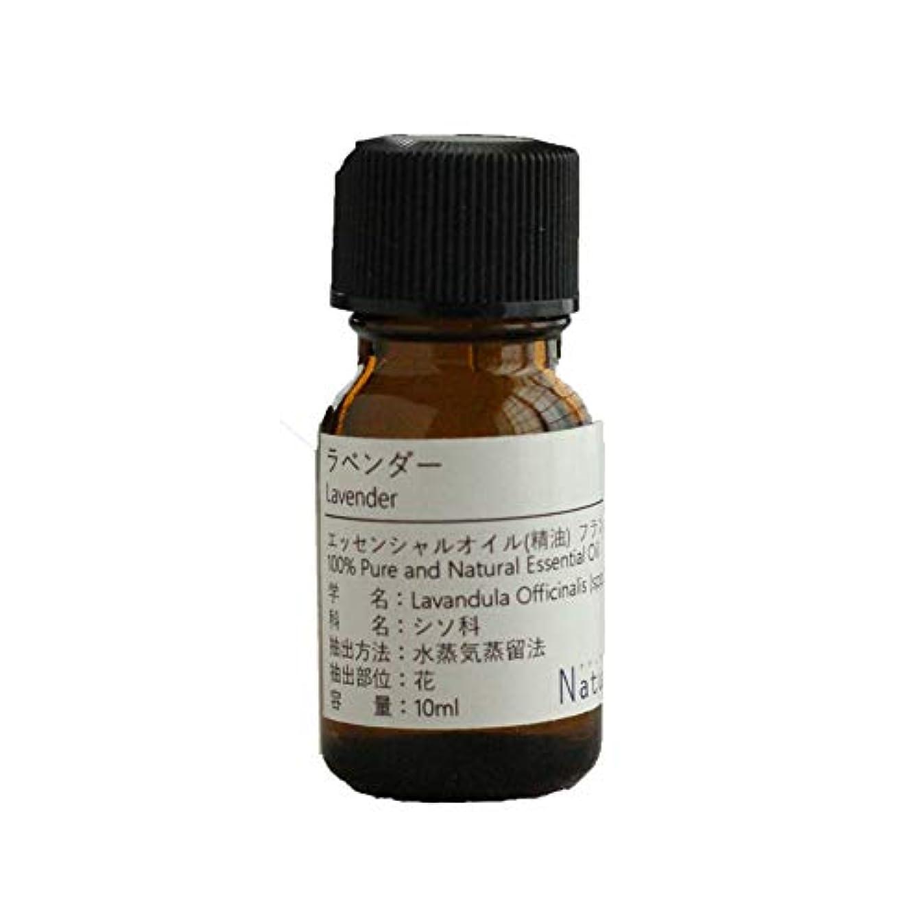 取り除く気質騒々しいNatural蒼 ラベンダー/エッセンシャルオイル 精油天然100% (10ml)