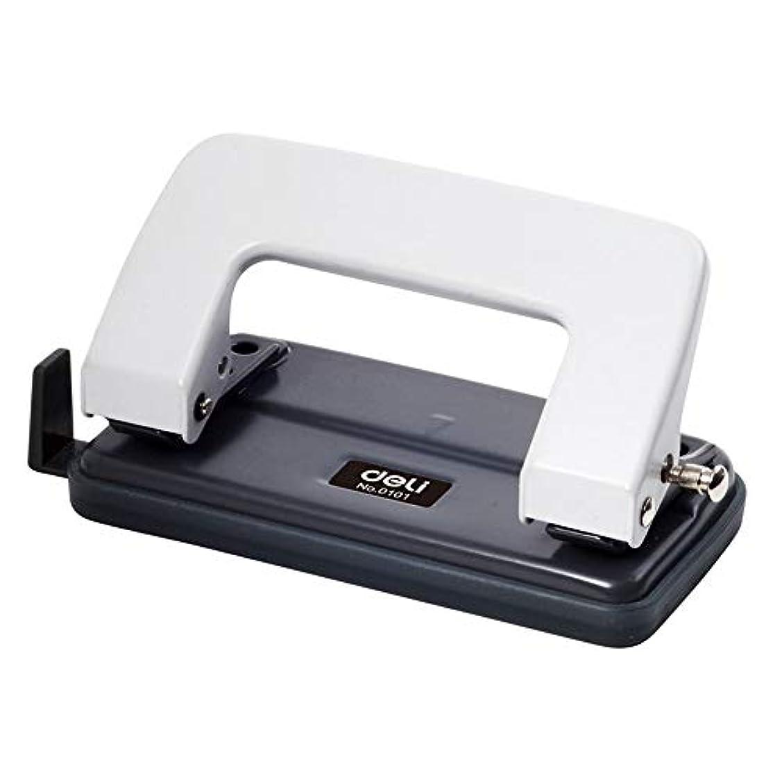 思想信条センターオフィスパンチングマシン 2穴のパンチ穴のマシンOffice文房具は12を打つことができます (色 : 白)
