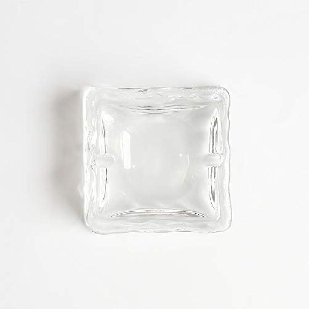 練習のど普通にクリエイティブ屋外セラミックス灰皿ホームオフィスの卓上美しい装飾工芸品 (色 : クリア)