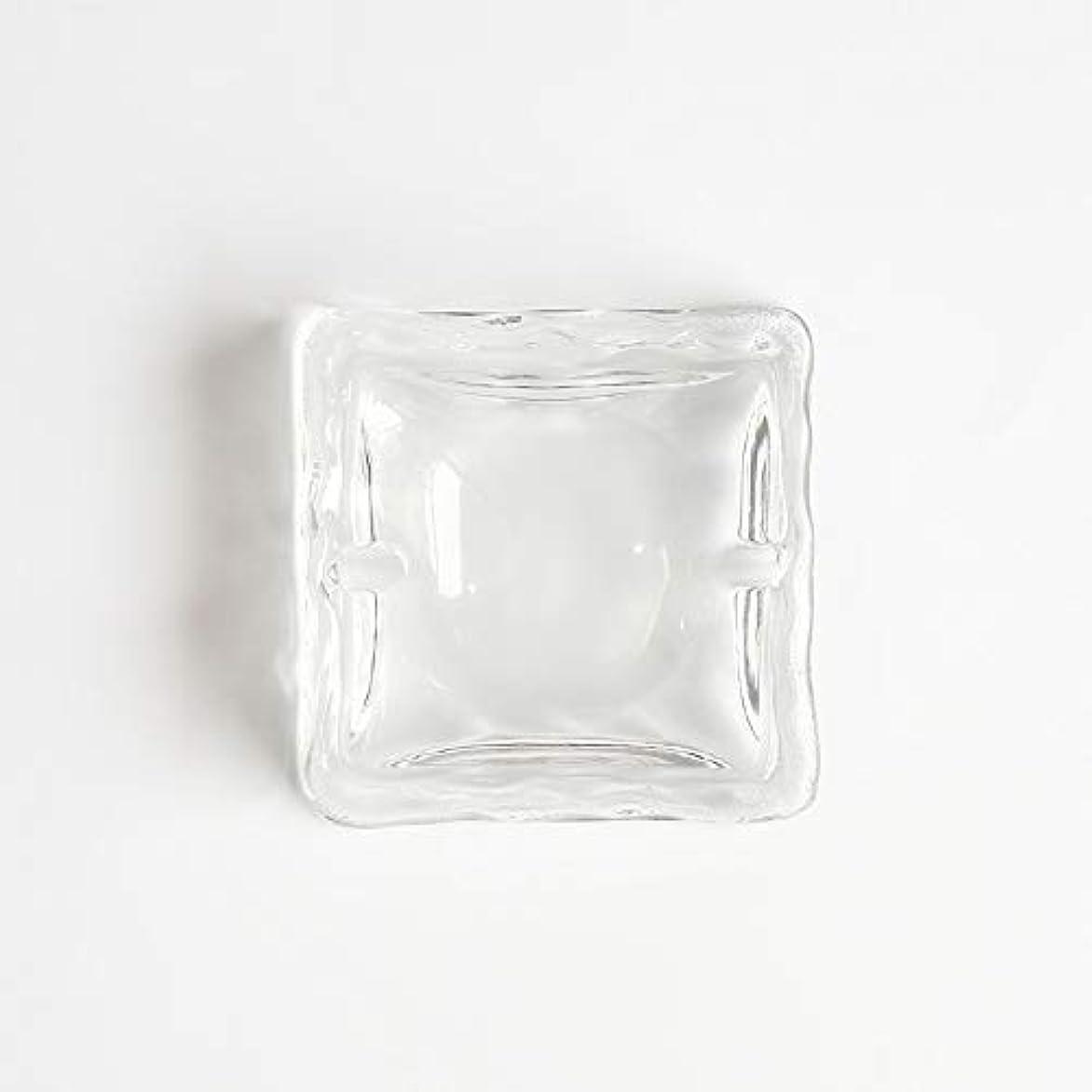 弱めるツール破裂クリエイティブ屋外セラミックス灰皿ホームオフィスの卓上美しい装飾工芸品 (色 : クリア)