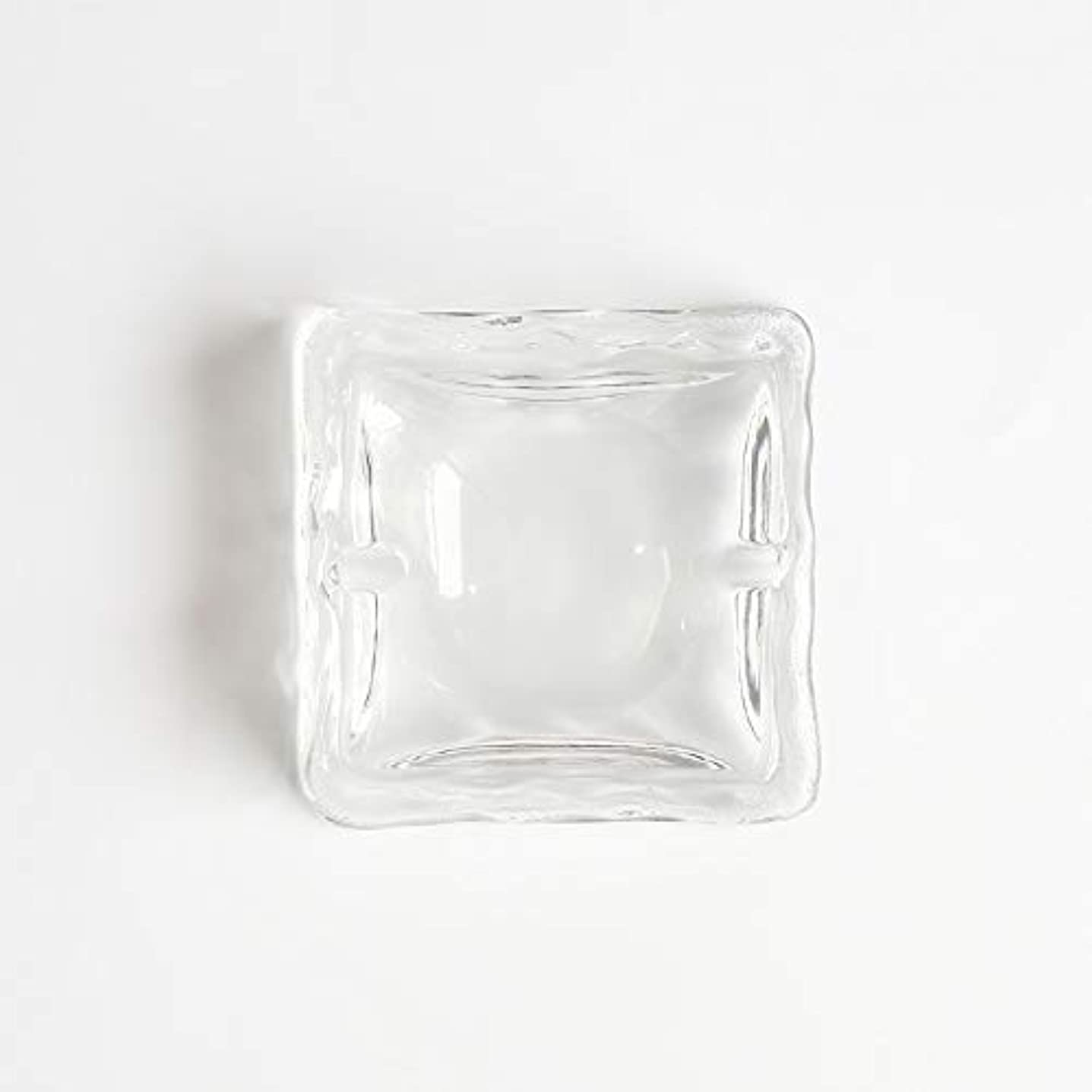 溝配る白鳥クリエイティブ屋外セラミックス灰皿ホームオフィスの卓上美しい装飾工芸品 (色 : クリア)