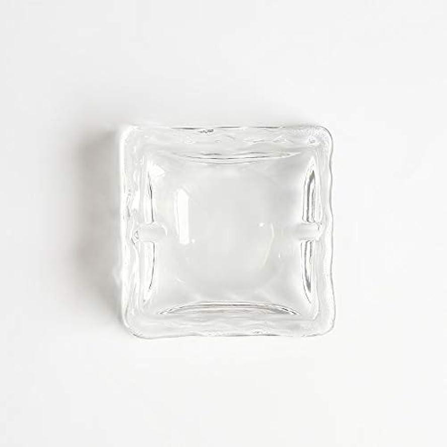 領事館踏み台パッケージクリエイティブ屋外セラミックス灰皿ホームオフィスの卓上美しい装飾工芸品 (色 : クリア)