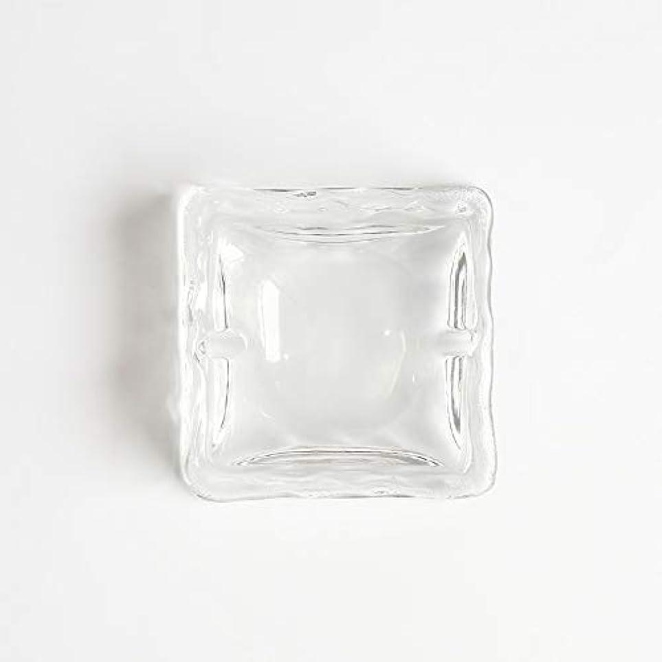 虫レルム順応性クリエイティブ屋外セラミックス灰皿ホームオフィスの卓上美しい装飾工芸品 (色 : クリア)