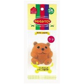 ペティオ やわらかTOY クマ