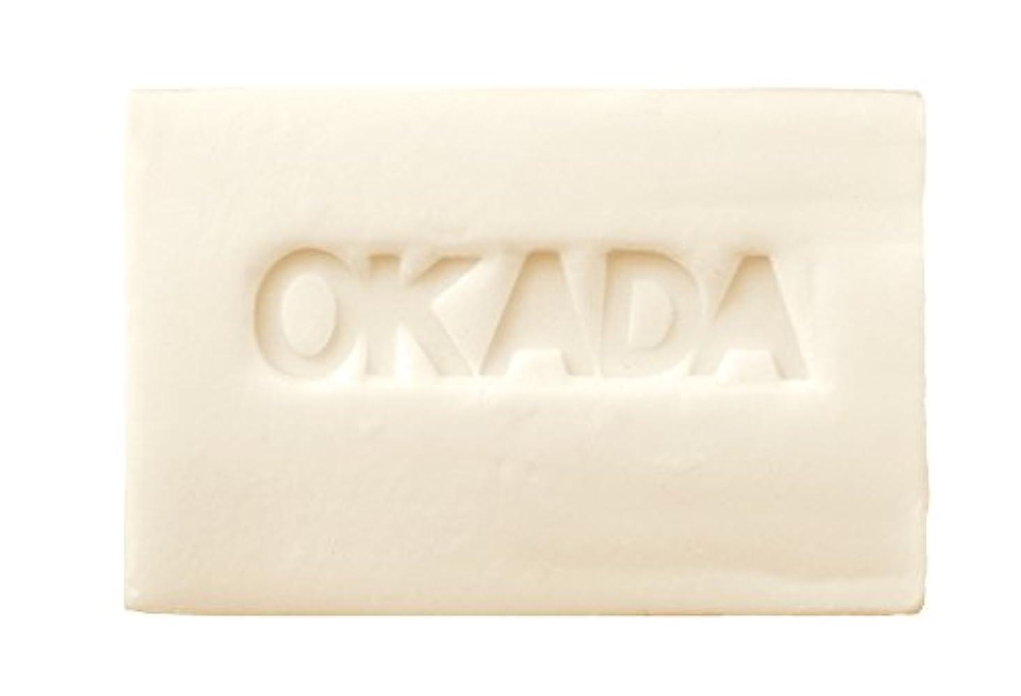 先にカップ維持無添加工房OKADA オリーブオイル100% 岡田石けん (100g)