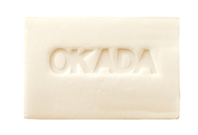 アシュリータファーマン読みやすい有力者無添加工房OKADA オリーブオイル100% 岡田石けん (100g)