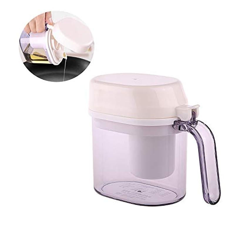 ネックレット消費付けるオイルボトル - キッチンオイル缶、漏れ防止イーグルオイルデザインオイル缶、オイルコントロールオイル缶付き、ドリップノズルなし