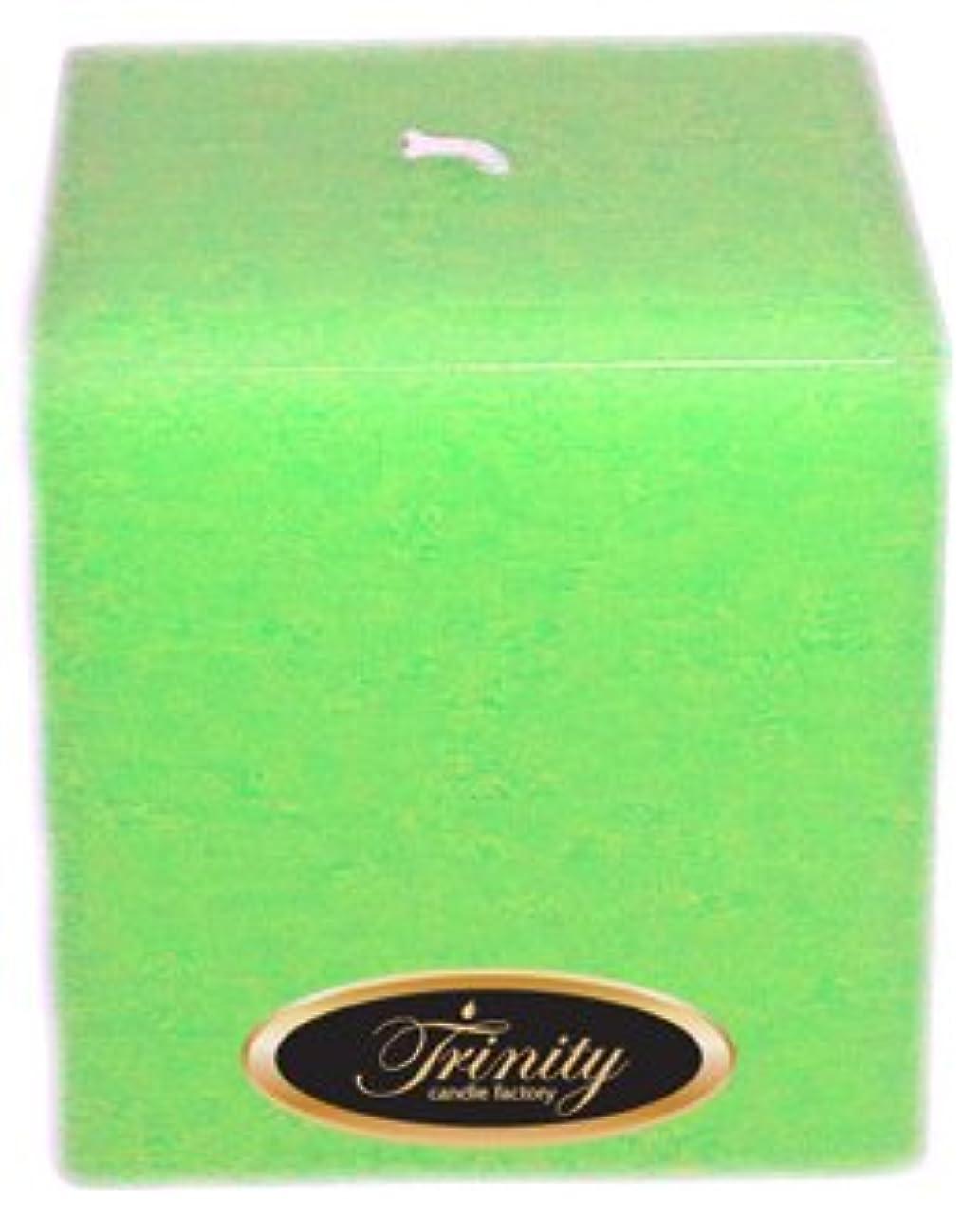 ウィンク南アメリカ楽観的Trinity Candle工場 – Frangipani – Pillar Candle – 正方形 – 4 x 4