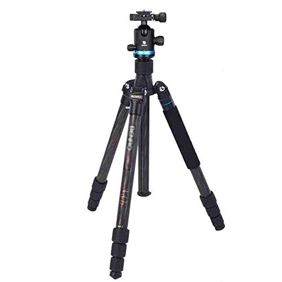 余韻途方もないページスマホ三脚 モバイルデジタル一眼レフカメラの旅行と作業に適しポータブル三脚、三脚旅行アウトドアコンパクトカメラの三脚一脚、 カメラスマホ対応 (Color : Black, Size : One size)