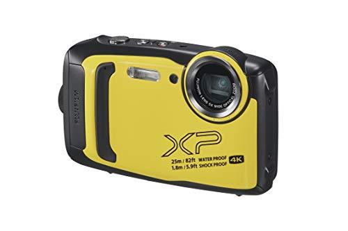 FUJIFILM 防水カメラ XP140 イエロー FX-XP140Y