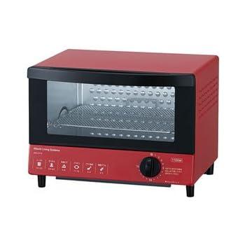 日立 オーブントースター レッド HTO-CT10 R