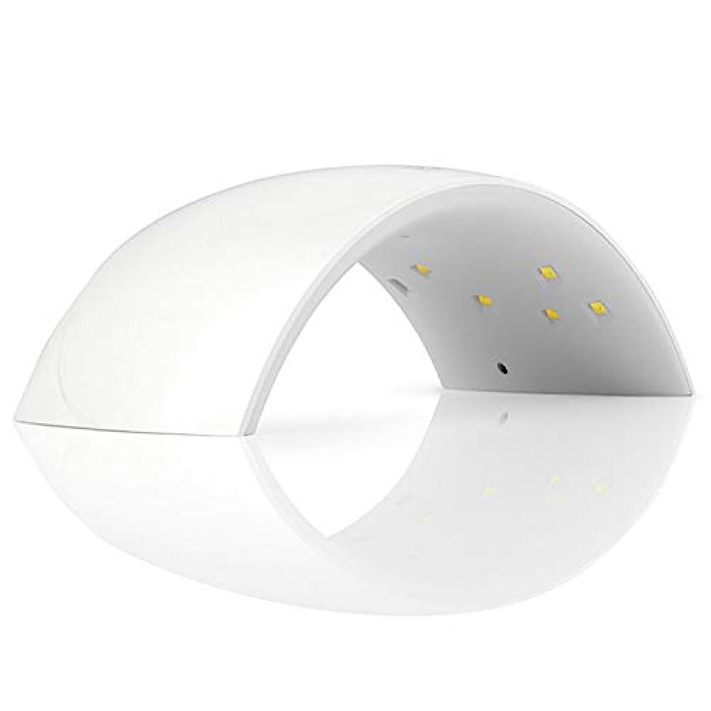 2タイマー設定のLED UVネイルドライヤー - ネイルライト硬化LEDジェルネイルポリッシュ、プロネイルホーム、サロン