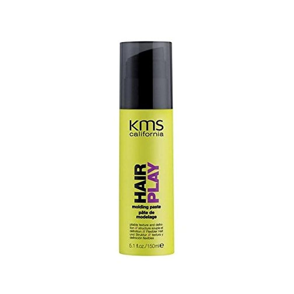 収縮疲労次へカリフォルニア成形ペースト(150ミリリットル) x4 - Kms California Hairplay Molding Paste (150ml) (Pack of 4) [並行輸入品]