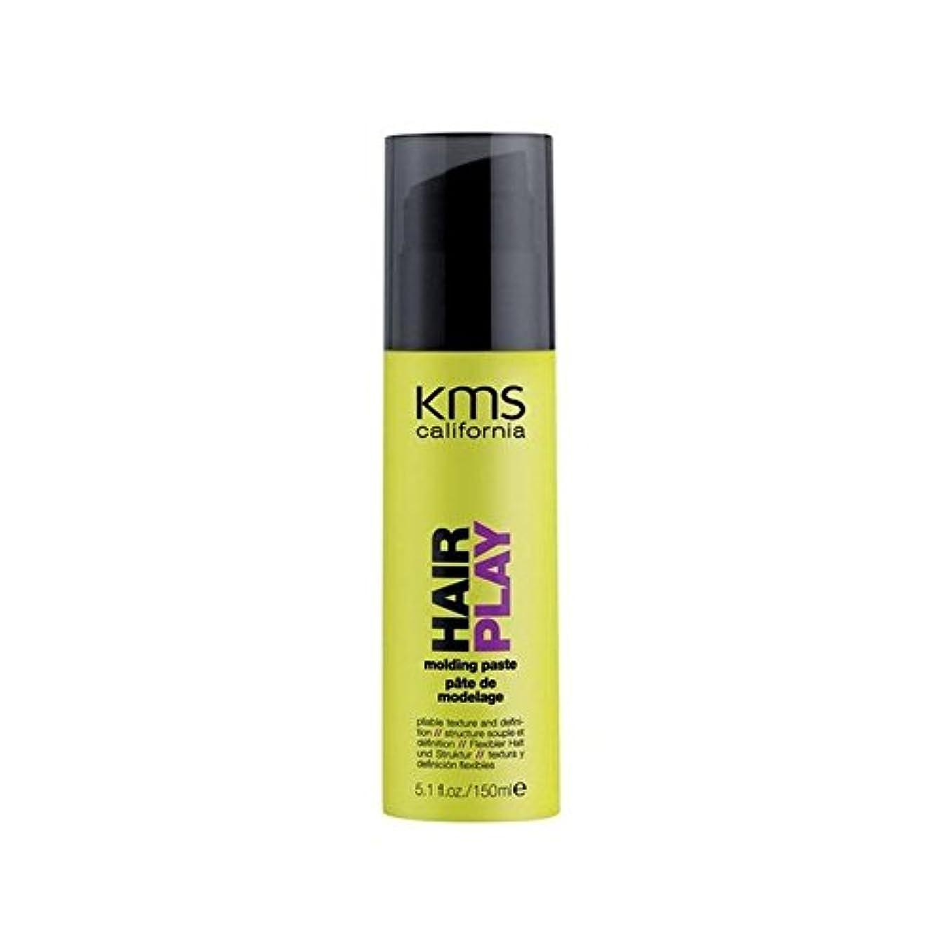 幅好き器具カリフォルニア成形ペースト(150ミリリットル) x4 - Kms California Hairplay Molding Paste (150ml) (Pack of 4) [並行輸入品]