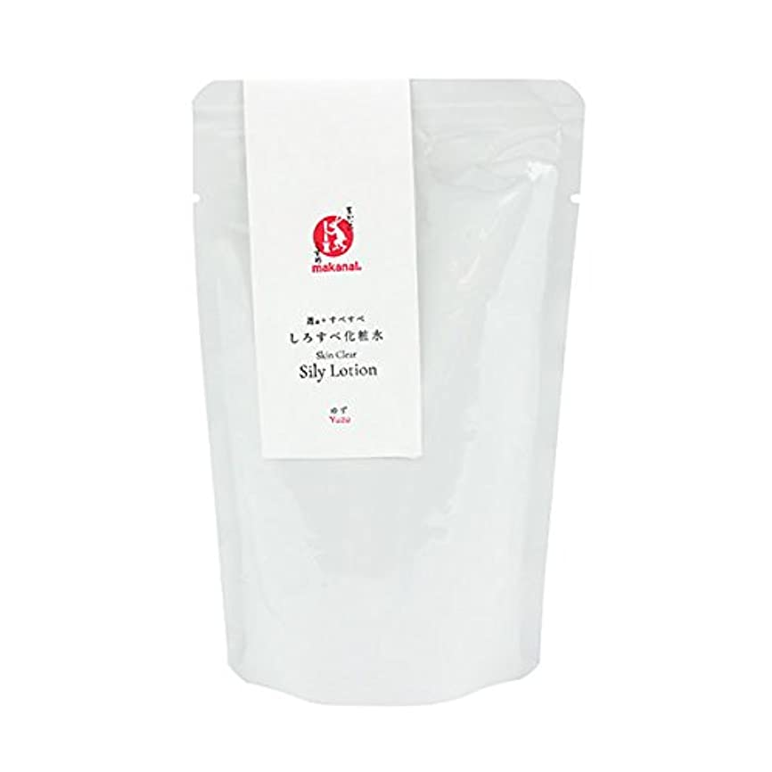 タップ奇妙なストライプまかないこすめ しろすべ化粧水(詰め替え用) 150ml