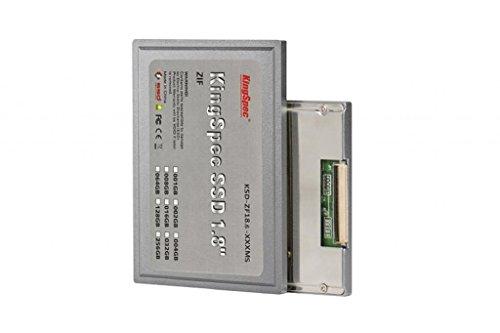 Kingspec 1.8インチ ZIF/CE 40pin SMI2236 MLC SSD 128GB 【並行輸入品】