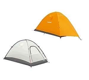 モンベル ステラリッジ テント 2型 本体(#1122533)+フライシート(#1122537) サンライトイエロー(SUYL)