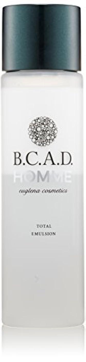 アルコールレール気晴らしビーシーエーディーオム B.C.A.D.HOMME HOMMEトータルエマルジョン 120ml