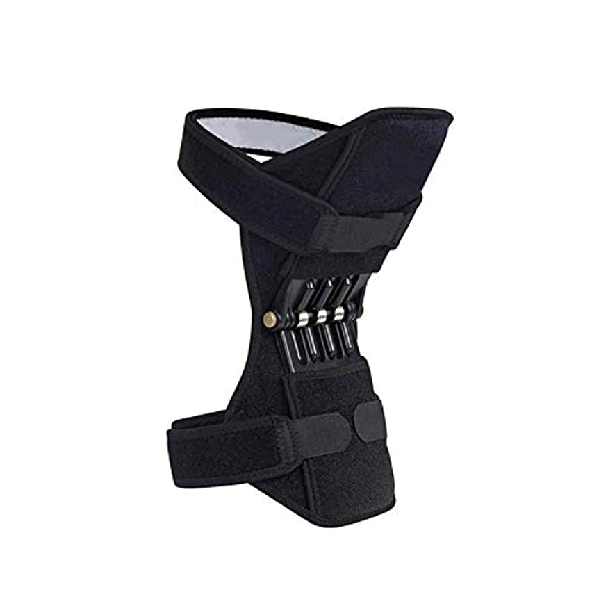 ゴネリル軍隊ぜいたくEsolom シングル 共同サポート 膝パッド通気性 滑り止め パワーブースト 関節補助膝パッド 左右どちらの足でも 強いリバウンドニーパッド
