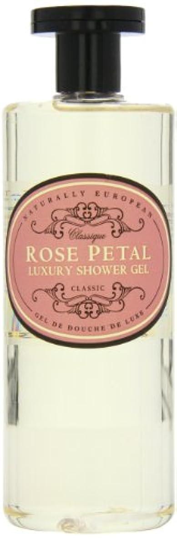 夜明けに見せます永久にNaturally European Rose Petal Luxury Refreshing Shower Gel 500ml