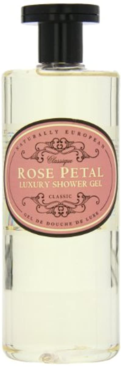 オープナー社会学スケジュールNaturally European Rose Petal Luxury Refreshing Shower Gel 500ml