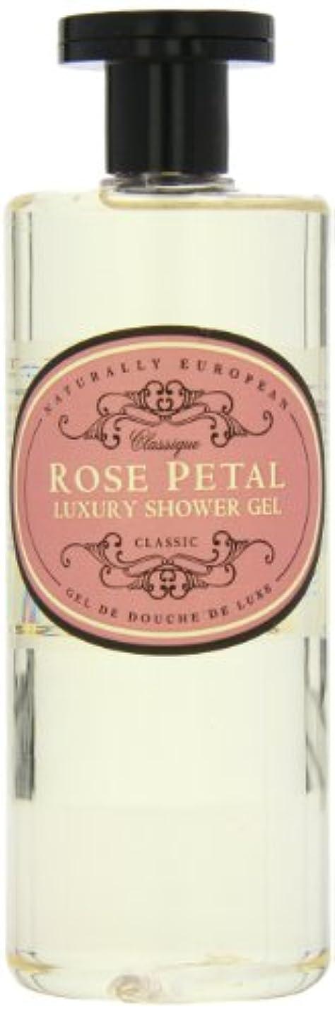 スナック読書推進Naturally European Rose Petal Luxury Refreshing Shower Gel 500ml