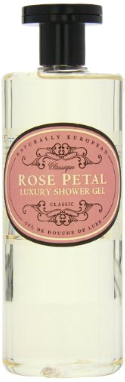 決して大使医療のNaturally European Rose Petal Luxury Refreshing Shower Gel 500ml