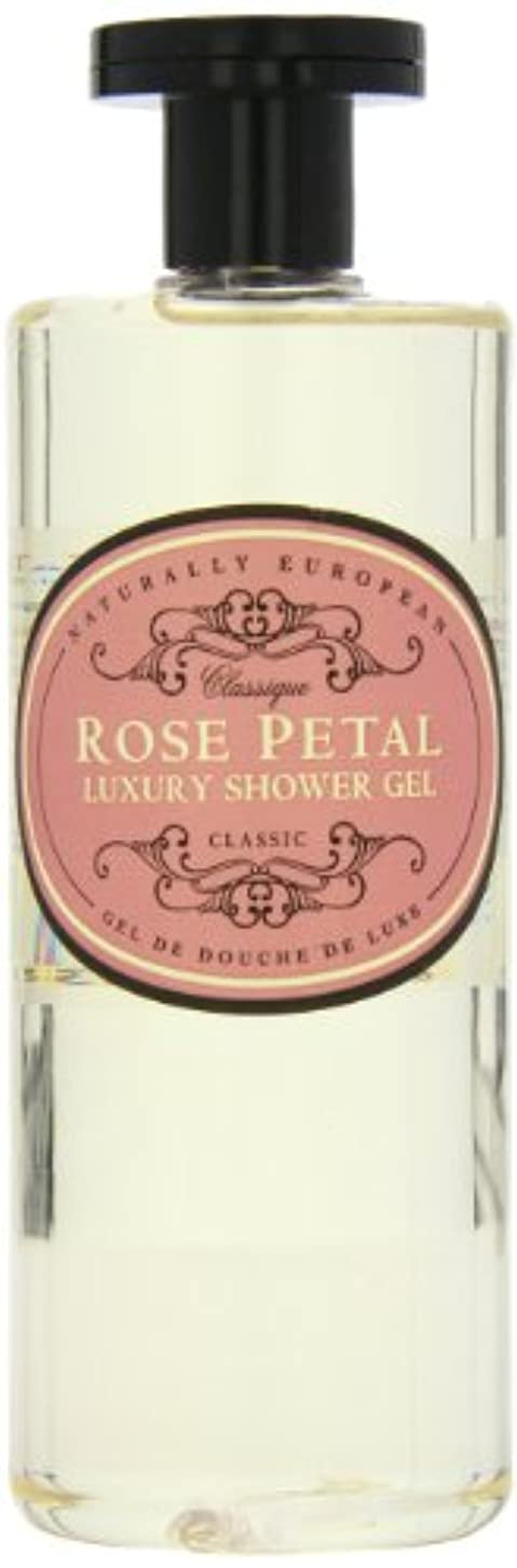 提唱するアマチュア線形Naturally European Rose Petal Luxury Refreshing Shower Gel 500ml