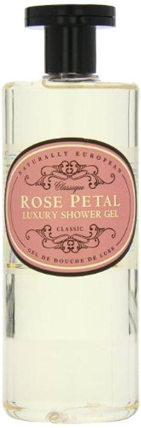 一回腹痛無視Naturally European Rose Petal Luxury Refreshing Shower Gel 500ml