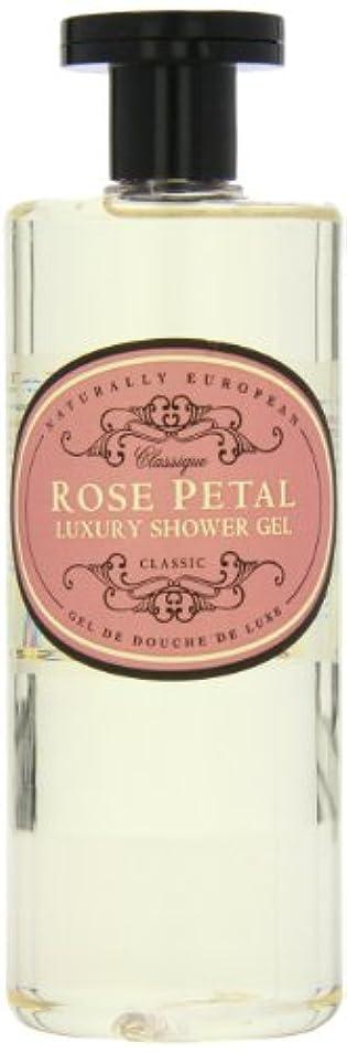 適度に寄稿者リーチNaturally European Rose Petal Luxury Refreshing Shower Gel 500ml