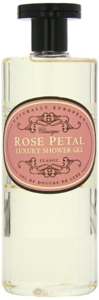 確かめるジム市民権Naturally European Rose Petal Luxury Refreshing Shower Gel 500ml