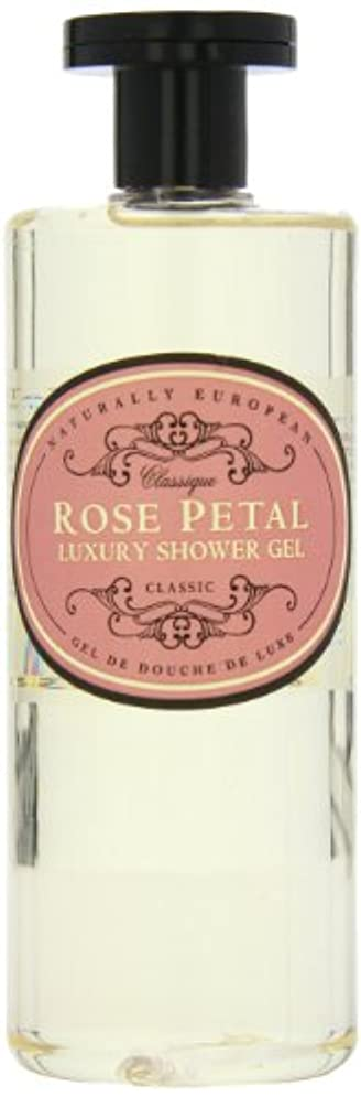 シール哲学博士不正Naturally European Rose Petal Luxury Refreshing Shower Gel 500ml