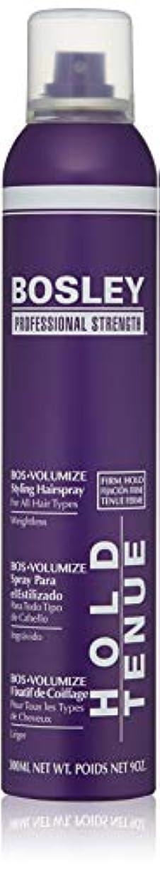 溶接専門プランターBosley Volumizing and Thickening Styling Hairspray, 9 Ounce