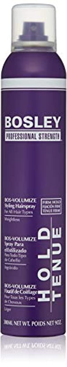 しょっぱい先金属Bosley Volumizing and Thickening Styling Hairspray, 9 Ounce