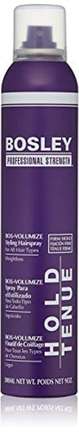習熟度飽和する交じるBosley Volumizing and Thickening Styling Hairspray, 9 Ounce