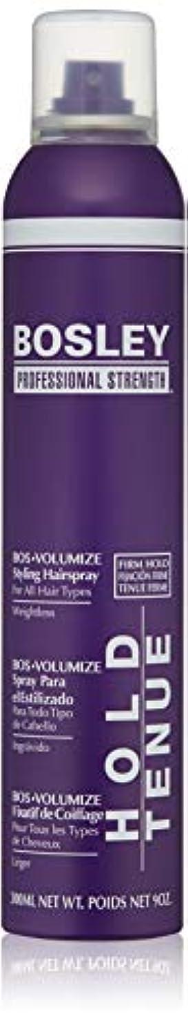 知らせる明るいパーセントBosley Volumizing and Thickening Styling Hairspray, 9 Ounce