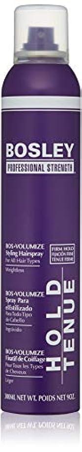 生む批判的に時期尚早Bosley Volumizing and Thickening Styling Hairspray, 9 Ounce