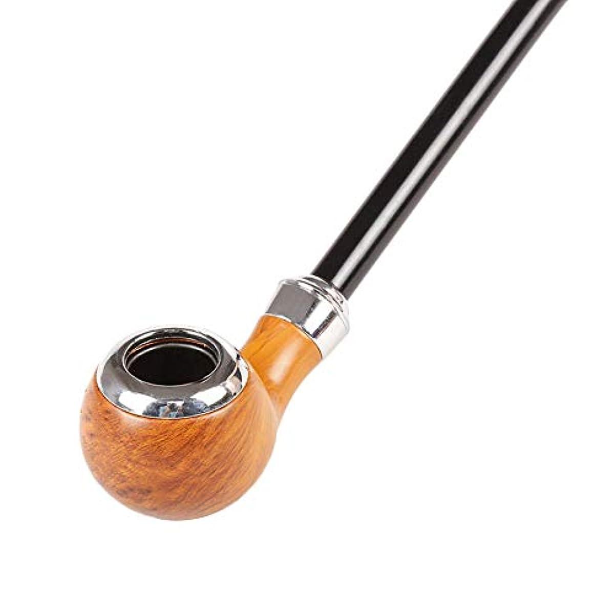 フェード抹消不確実GLJJQMY 金属アクリル喫煙セット41cmロングロッドチューブ手作りのギフトボックス パイプ (色 : C)
