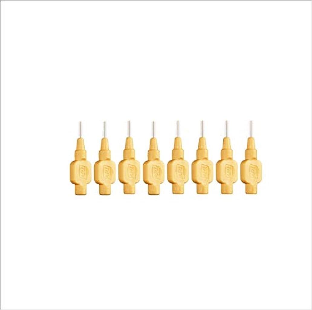 リラックス浮浪者スティッククロスフィールド テペ エクストラソフト 歯間ブラシ 8本入 オレンジ 0.45mm