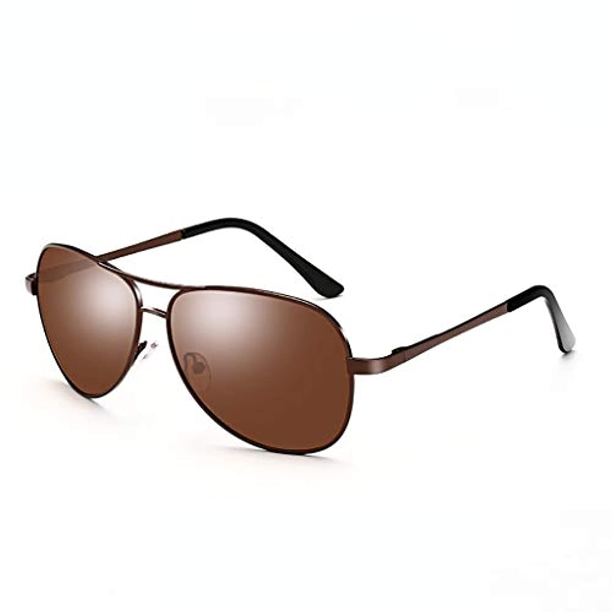 場合緊張しばしばヴィンテージ偏光サングラス女性用、UV400保護レンズ、アセテートフレーム - ブラウン