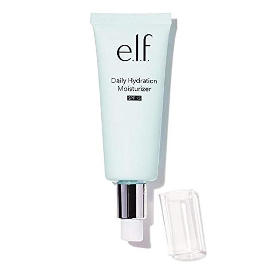 着飾るなしでピーク[Elf ] エルフ。毎日水和保湿75ミリリットル - e.l.f. Daily Hydration Moisturiser 75ml [並行輸入品]