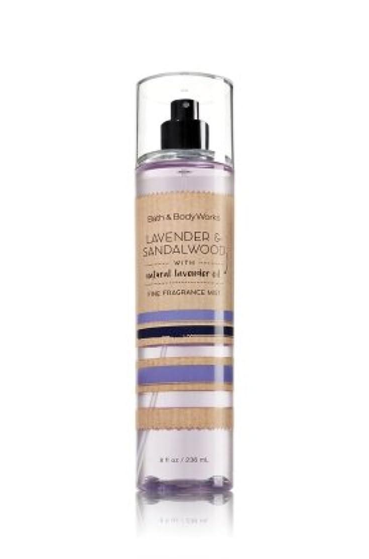 曲望む適格【Bath&Body Works/バス&ボディワークス】 ファインフレグランスミスト ラベンダー&サンダルウッド Fine Fragrance Mist Lavender & Sandalwood 8oz (236ml)...