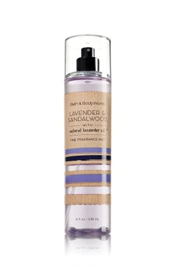 想像力豊かなリム絡み合い【Bath&Body Works/バス&ボディワークス】 ファインフレグランスミスト ラベンダー&サンダルウッド Fine Fragrance Mist Lavender & Sandalwood 8oz (236ml)...