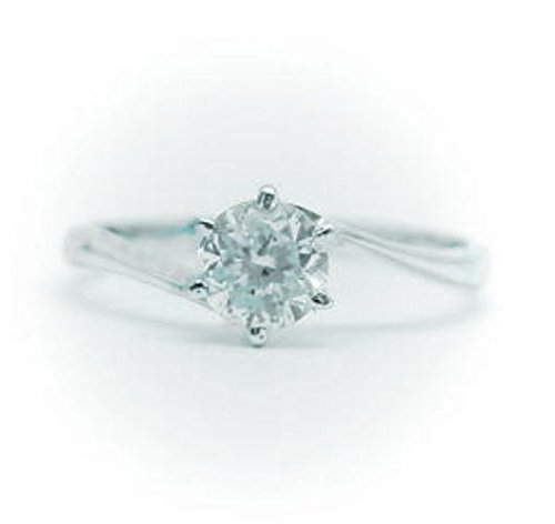 0.2ct.E-VVS1-3EX(H&C) PT プラチナ 婚約指輪 エンゲージリング ダイヤモンドリング S字タイプ (鑑定書付) r-02evvs13ex-kwr-11 (8)