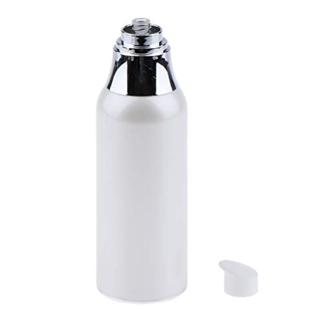 病気だと思う手伝う隠メイクアップボトル エアレスポンプボトル 詰替え容器 2サイズ選べ - 100ミリリットル